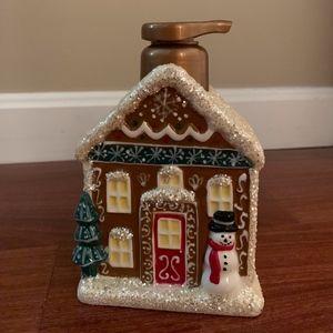 Gingerbread Soap Dispenser (NWOT)
